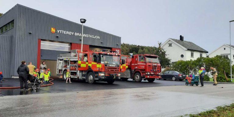 Besøk Ytterøy stasjon 23.9